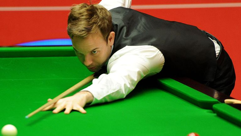 Ali Carter: received a standing ovation