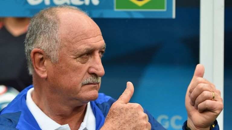 Luiz Felipe Scolari: Says Brazil have one hand on the World Cup