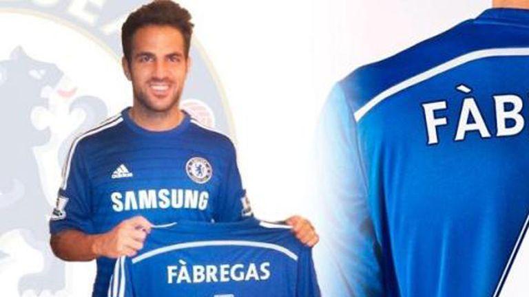 Cesc Fabregas: Spain midfielder has left Barcelona to join Chelsea