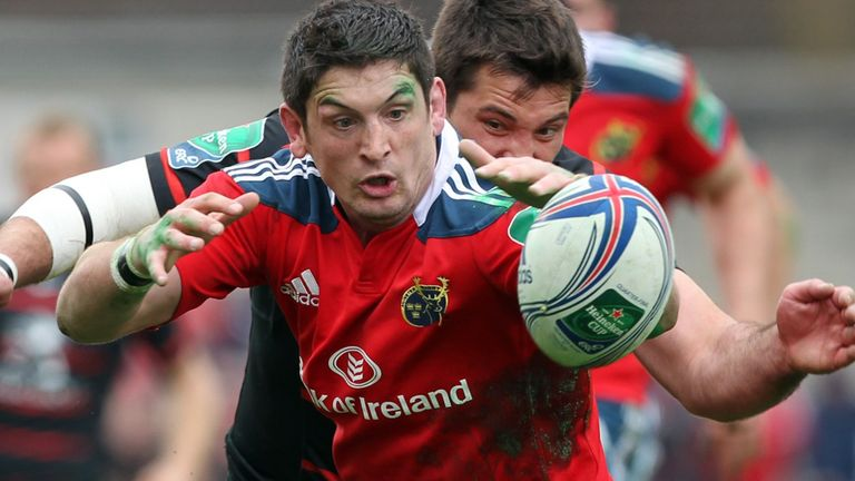 Munster are one of the teams Downey has served with distinction