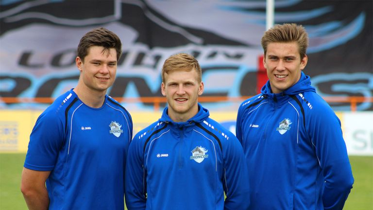 London Broncos: Toby Everett, Joe Keyes and Harvey Burnett sign new deals