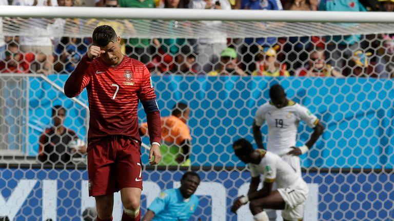Cristiano Ronaldo: Portugal forward's goal celebrations were muted
