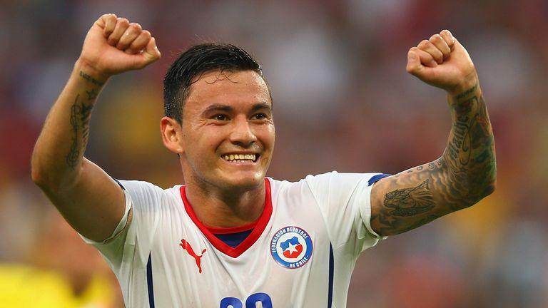 Aranguiz: Joy at grabbing second goal