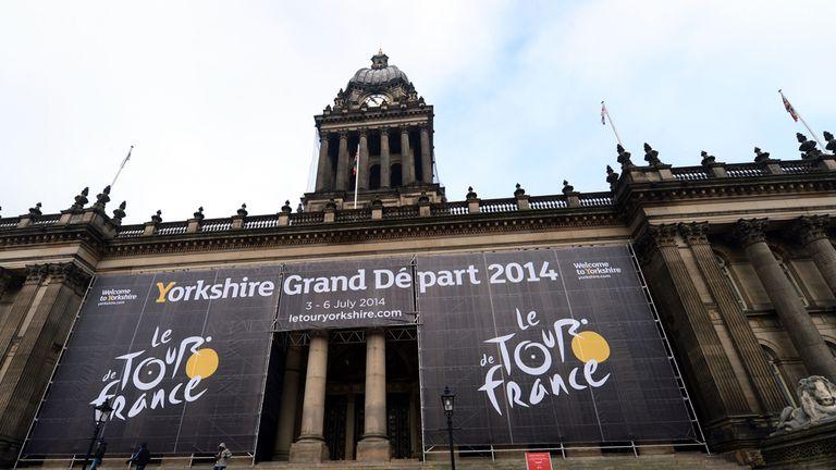 Tour de France: Grand Depart from Leeds City Centre