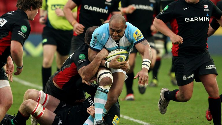 Aleki Lutui: Previously played Premiership rugby with Worcester