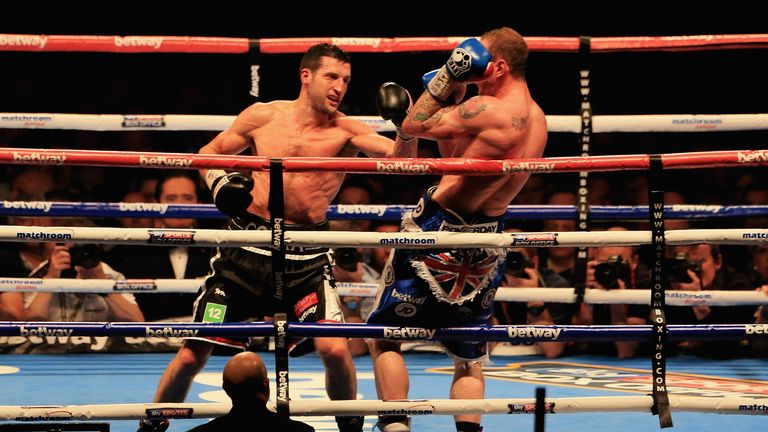 Rematch: we have seen another super-middleweight repeat. Will this go the same way?