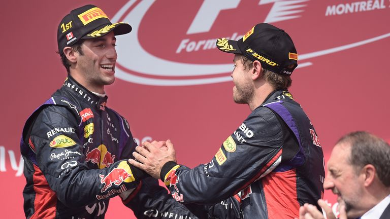 Ricciardo has had the edge on F1's quadruple World Champion