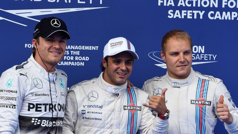 Felipe Massa on pole