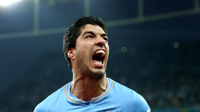 Uruguay striker Luis Suarez has been suspended for four months