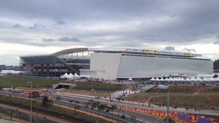 Sao Paulo World Cup stadium