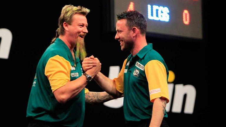 Whitlock and Nicholson contested one of the most memorable World Cup finals of all time in 2012