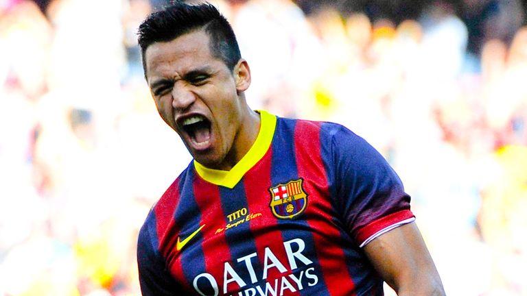 Sanchez: 39 goals in 88 league games for Barca