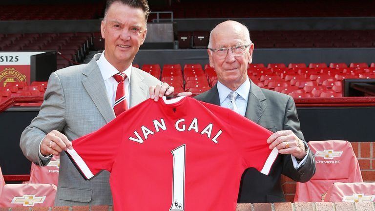 United's new manager Louis van Gaal has included six youth players in his 25-man squad for the pre-season tour of the USA.
