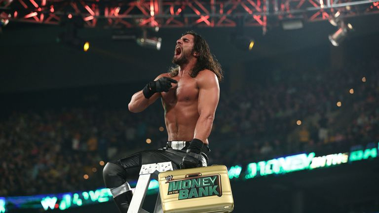 Seth Rollins is having no luck cashing in his Money in the Bank contract...