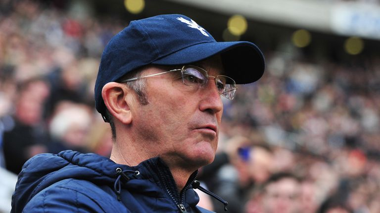 Tony Pulis: Selhurst Park reign appears to be over.