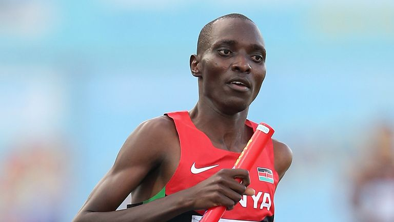Kenyan athlete Asbel Kiprop has tested positive for EPO