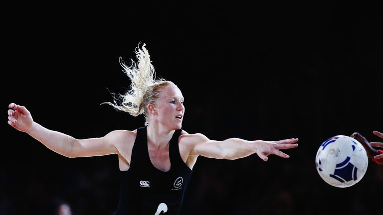 Laura Langman returns to international netball after taking a two year hiatus
