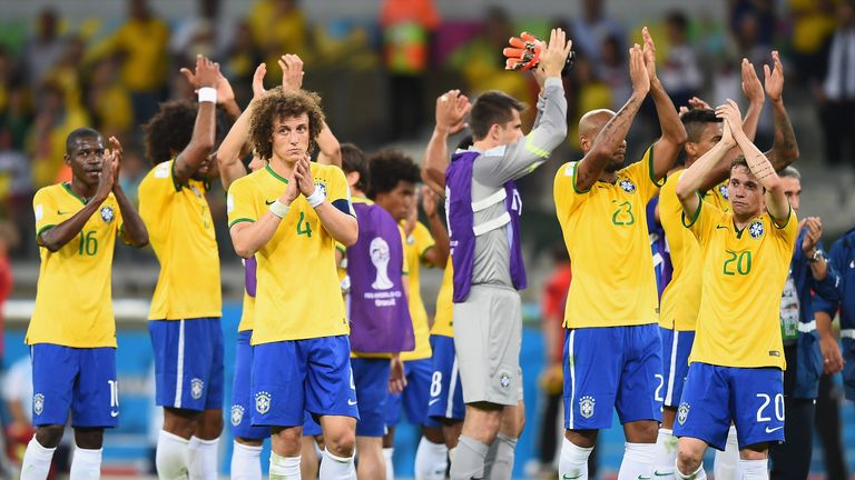 Brazil were humiliated in a 7-1 semi-final loss to Germany in 2004