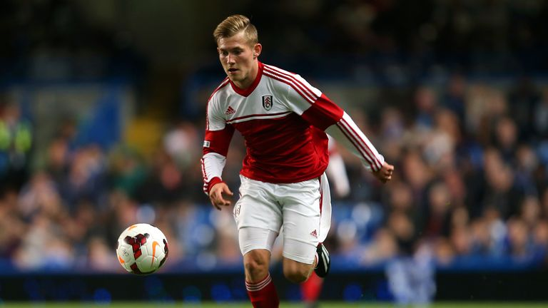 George Williams: Signs new deal at Fulham.