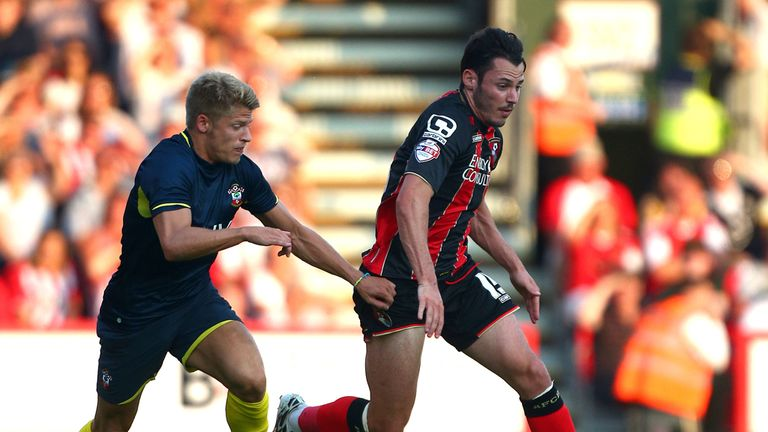 Adam Smith: Looks to get away from Southampton's Lloyd Isgrove