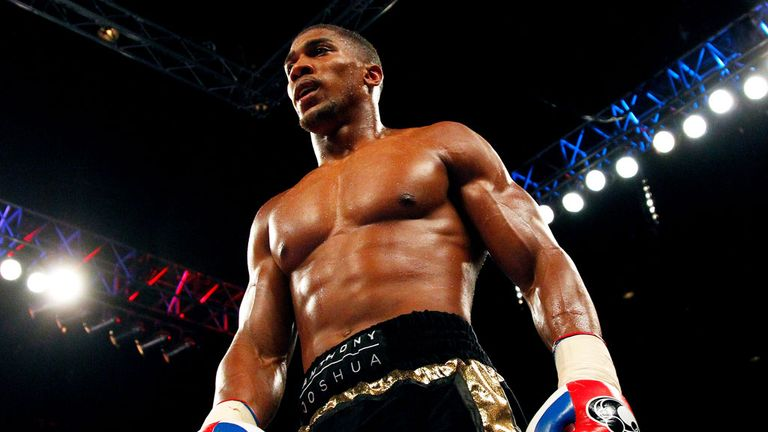 Anthony Joshua: Hopes to return to action soon