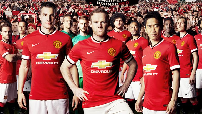 New Manchester United kit was revealed on Monday