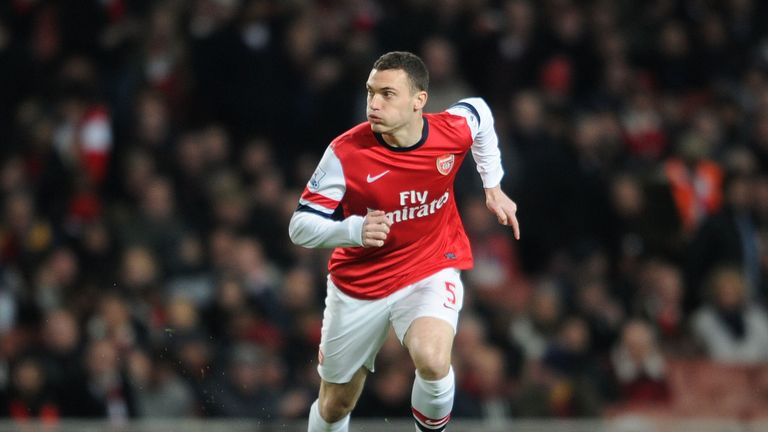 Vermaelen joined the Gunners from Ajax for £10m in 2009