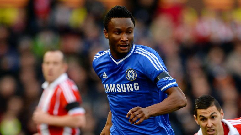 Mikel left Chelsea in January 2017 after a decade at the club