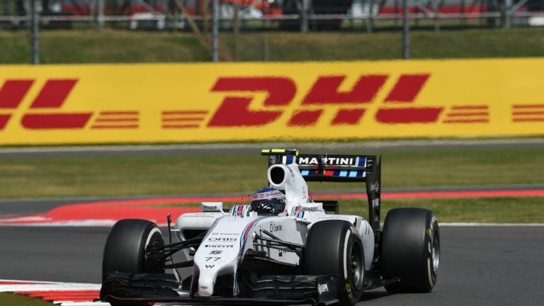 High-speed: Bottas sliced his way through the field from 14th