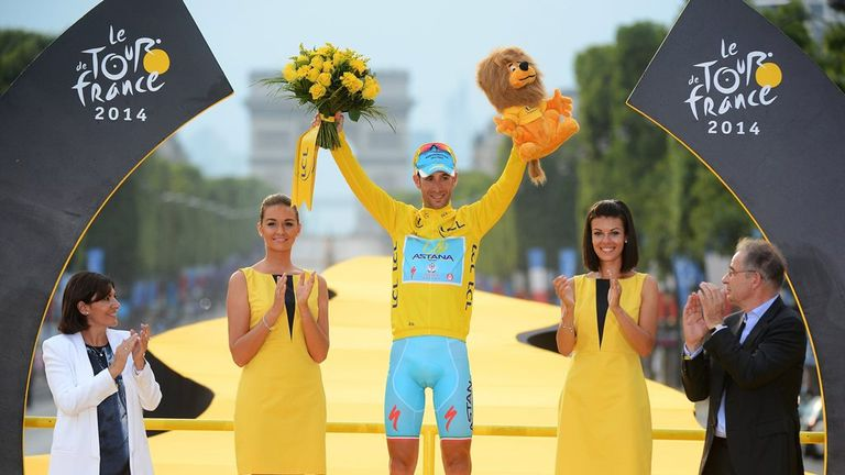 Vincenzo Nibali completed overall Tour de France victory by safely arriving in Paris on Sunday