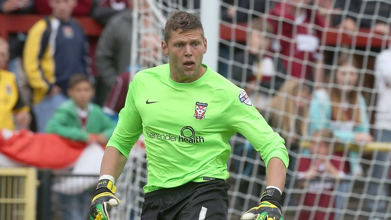 Jason Mooney: Has been released by Accrington