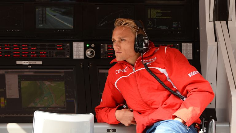 Max Chilton: Back for Marussia at Belgian GP