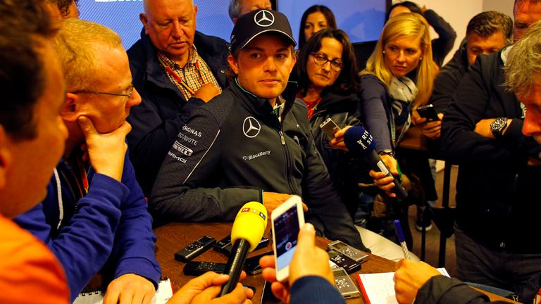 Rosberg: Has apologised for the collision