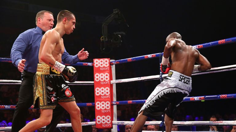 Quigg blew Munyai away in spectacular fashion last time out  - now he wants the big fights