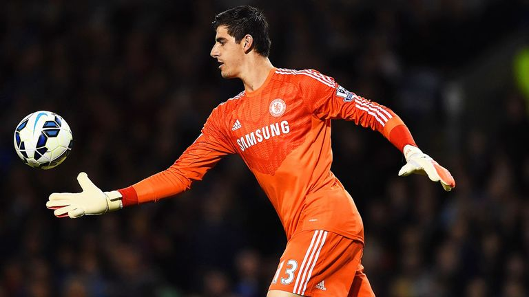 Thibaut Courtois: Set to sign a new five-year contract