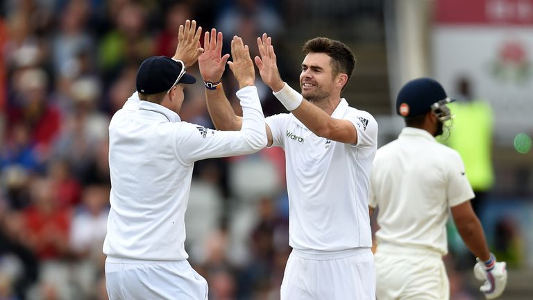 Anderson tormented Kohli on India's last tour of England