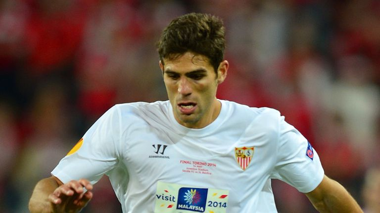 Federico Fazio played for Sevilla from 2007 to 2014