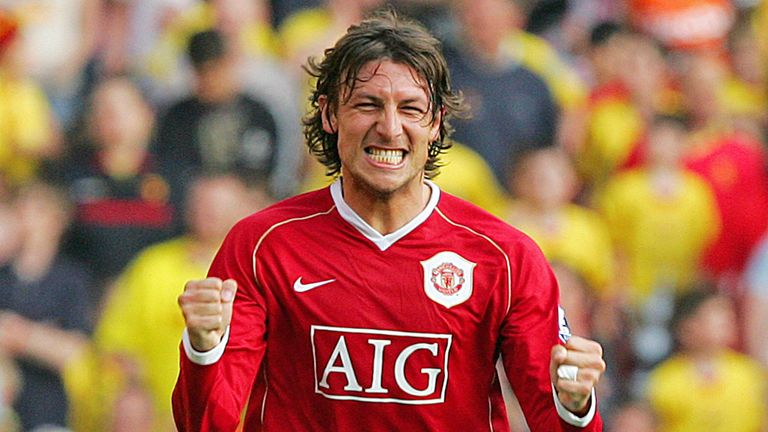 Gabriel Heinze was United's player of the year in his first season at Old Trafford