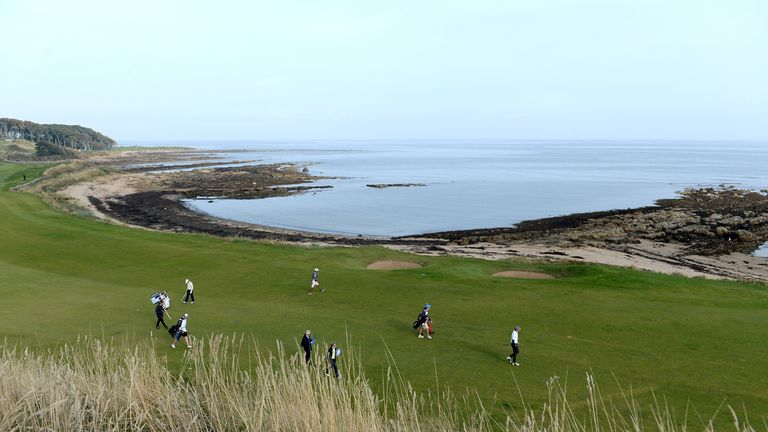 kingsbarns golf links confirmed as the venue to host 2017