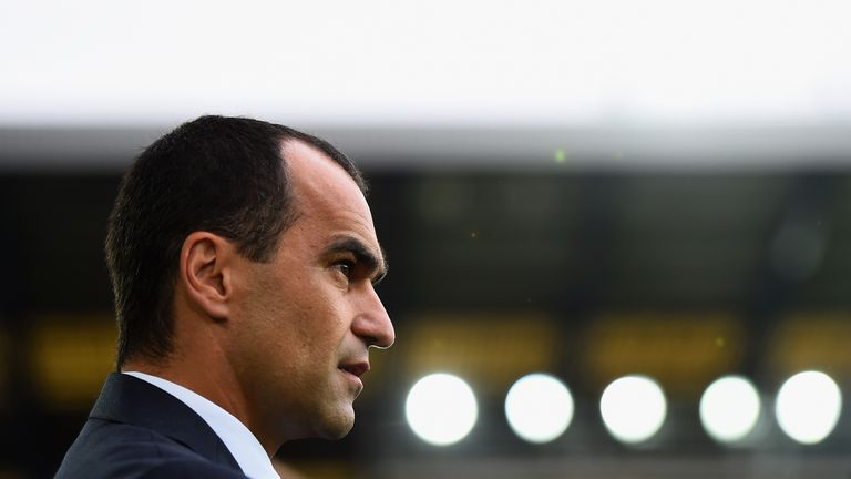 Roberto Martinez was pleased with the character Everton showed in Russia