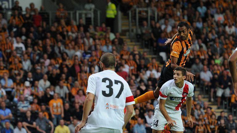 Ahmed Elmohamady scores