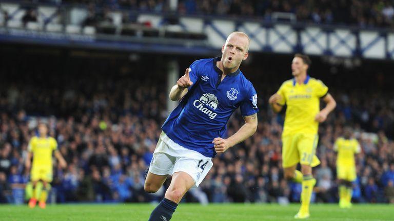 Steven Naismith: Happy at Everton and enjoying life under Roberto Martinez