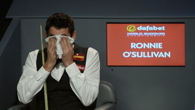 Ronnie O'Sullivan: Suffered a first-round defeat to Alan McManus