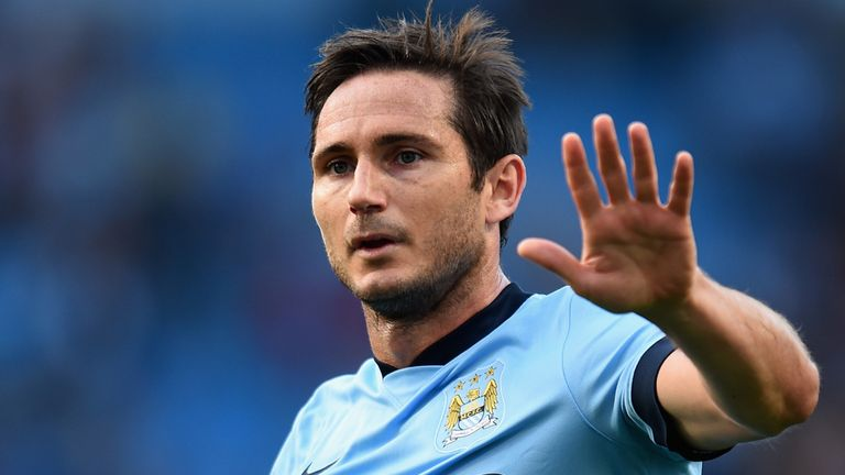 Frank Lampard: Scored first goal for Man City against his old club