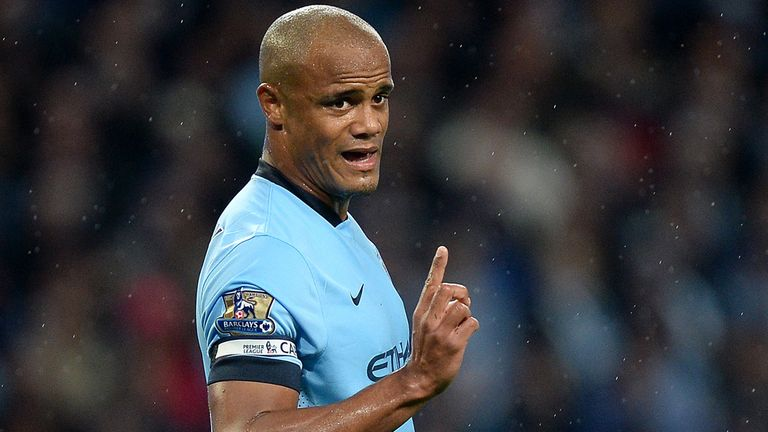 Vincent Kompany has faced criticism this year