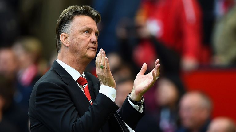 Louis van Gaal: Dutchman is confident he will remain in charge at Old Trafford for the duration of his contract