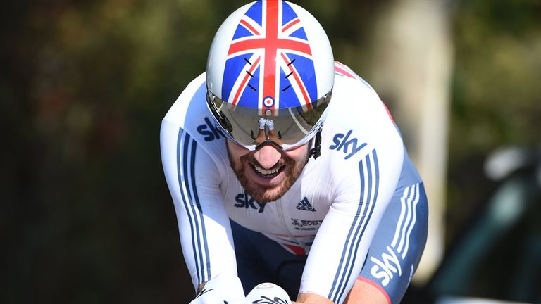 Wiggins won the world time-trial title in 2014