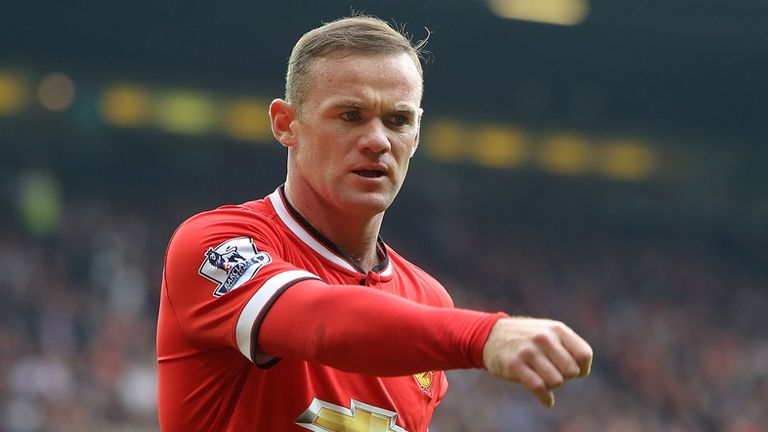 Wayne Rooney: Frustrated after Manchester United's collapse