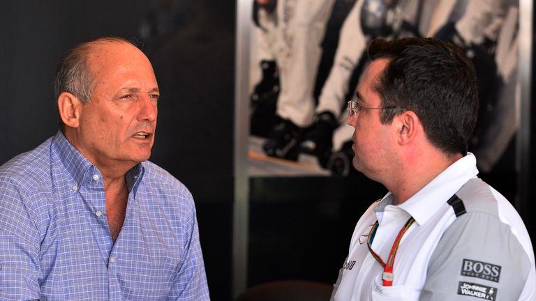 McLaren chiefs Ron Dennis and Eric Boullier
