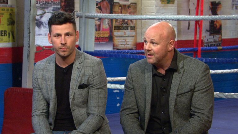 Darren Barker and Glenn Catley bout had world title fights in Germany